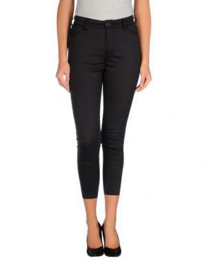 Повседневные брюки MICHIKO KOSHINO. Цвет: черный