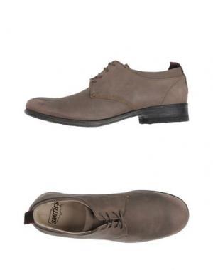 Обувь на шнурках SMITH'S AMERICAN. Цвет: серый