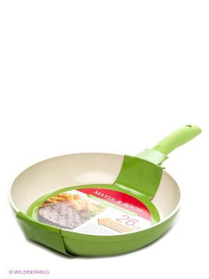 Сковорода MAYER-BOCH. Цвет: салатовый