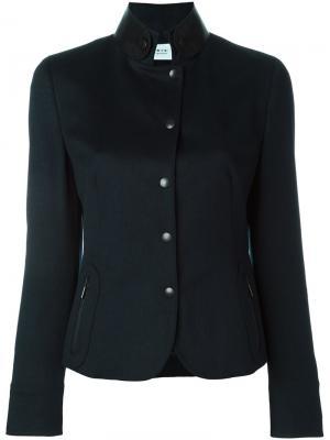 Куртка в стиле милитари Akris. Цвет: синий