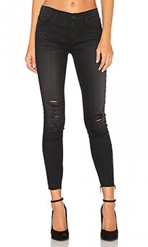 Узкие джинсы noah Black Orchid. Цвет: none