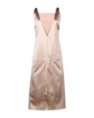 Платье длиной 3/4 BARBARA CASASOLA. Цвет: розовый