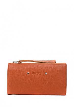 Кошелек D.Angeny. Цвет: оранжевый