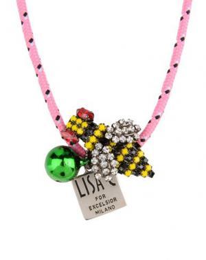 Ожерелье LISA C BIJOUX. Цвет: розовый