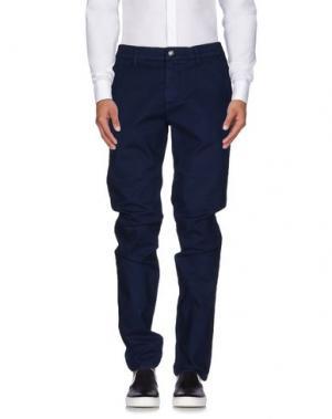 Повседневные брюки BIKKEMBERGS. Цвет: синий