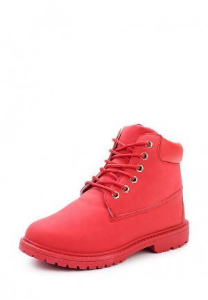 Ботинки Sweet Shoes. Цвет: красный