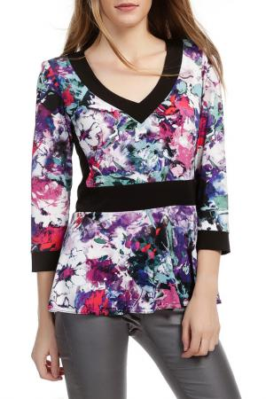 Блуза Georgede. Цвет: multicolor