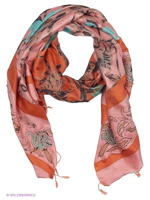 Платок MICHEL KATANA`. Цвет: розовый, терракотовый