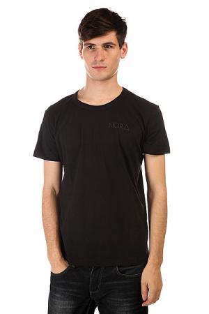 Футболка  Skateboards Logo Tee Shirt Black Nord. Цвет: черный