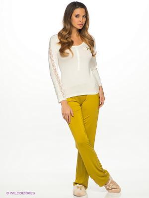 Комплект одежды HAYS. Цвет: белый, горчичный