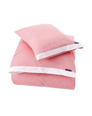 Гарнитура постельного белья LEXINGTON. Цвет: розовый