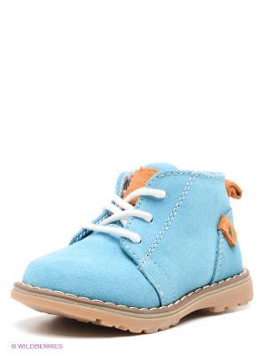 Ботинки Bebendorff. Цвет: голубой