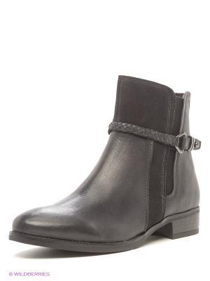 Ботинки Caprice. Цвет: темно-серый