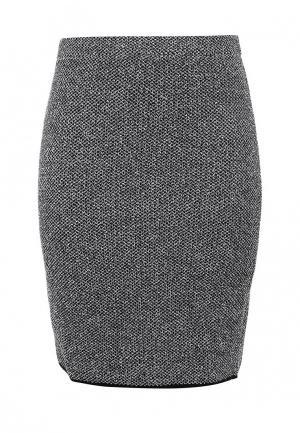 Юбка Milana Style. Цвет: серый