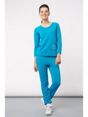 Спортивный костюм BORODINA KSENIA. Цвет: голубой