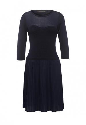 Платье Love Republic. Цвет: синий
