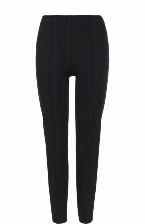 Укороченные брюки-скинни Emilio Pucci. Цвет: черный