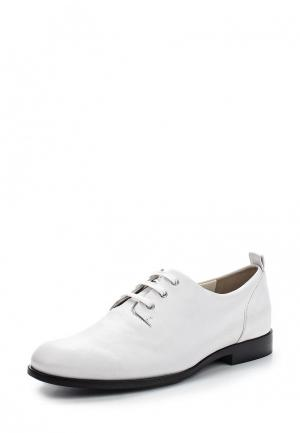 Ботинки Jil Sander Navy. Цвет: белый