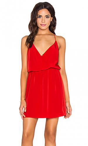 Платье marti Rory Beca. Цвет: красный