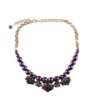 Ожерелье ORTYS OFFICINA MILANO. Цвет: фиолетовый