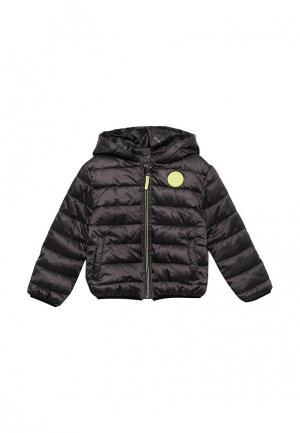 Куртка утепленная 3 Pommes. Цвет: серый