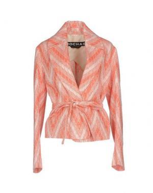 Пиджак ROCHAS. Цвет: коралловый