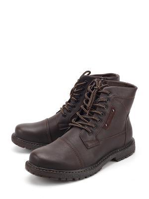 Ботинки Tofa. Цвет: коричневый