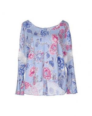 Блузка 22 MAGGIO BY MARIA GRAZIA SEVERI. Цвет: сиреневый