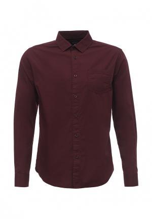 Рубашка Fresh Brand. Цвет: бордовый
