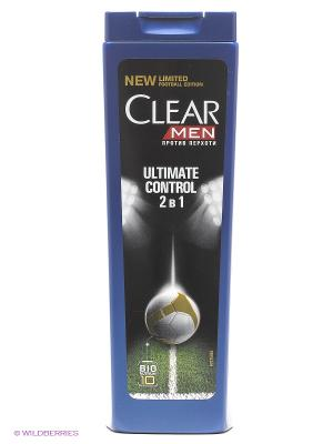 Шампунь и бальзам-ополаскиватель Clear  Ultimate Control 400 мл. Цвет: синий, белый