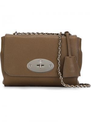 Маленькая сумка через плечо Mulberry. Цвет: коричневый