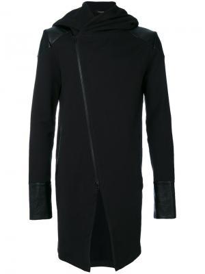 Куртка с капюшоном и панельным дизайном Unconditional. Цвет: чёрный
