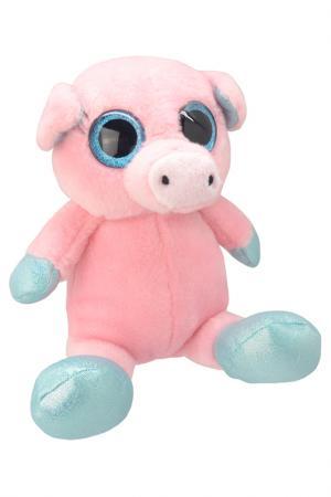 Свинка, 18 см WILD PLANET. Цвет: розовый