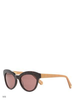 Очки солнцезащитные IS 11-350 50P Enni Marco. Цвет: темно-коричневый