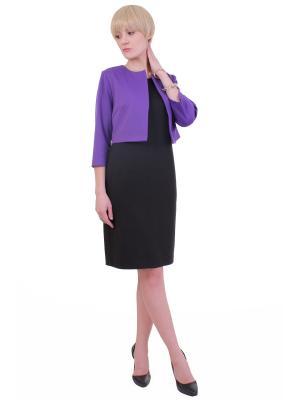 Жакет Regina Style. Цвет: темно-фиолетовый