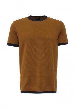Футболка Burton Menswear London. Цвет: коричневый