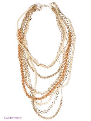 Ожерелье AVGAD. Цвет: золотистый