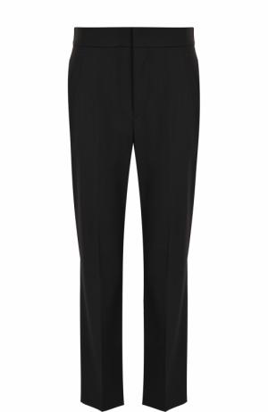 Укороченные расклешенные брюки со стрелками Isabel Marant. Цвет: черный