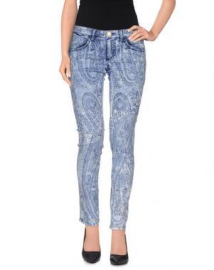 Повседневные брюки NELL&ME. Цвет: синий
