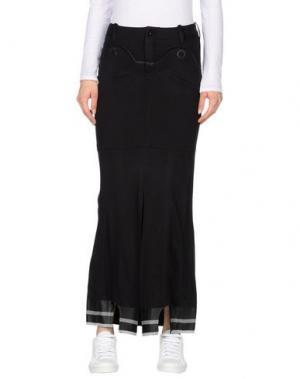 Длинная юбка MARITHÉ + FRANÇOIS GIRBAUD. Цвет: стальной серый