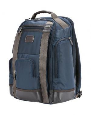 Рюкзаки и сумки на пояс TUMI. Цвет: синий