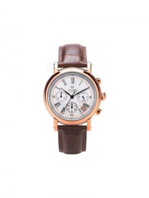 Часы Royal London 41193-04. Цвет: темно-коричневый,золотистый