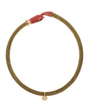 Ожерелье LA HORMIGA. Цвет: золотистый