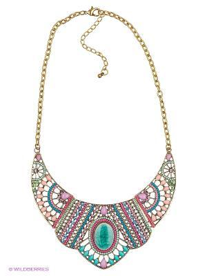 Колье Lovely Jewelry. Цвет: голубой