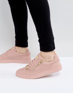 Glorious Gangsta Розовые кроссовки с молниями London. Цвет: розовый