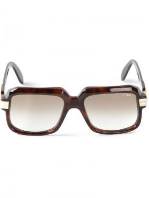 Квадратные солнечные очки Cazal. Цвет: коричневый