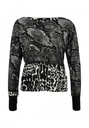 Блуза adL. Цвет: серый