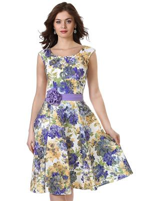 Платье OLIVEGREY. Цвет: белый