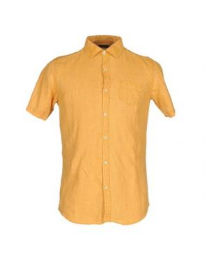 Pубашка MESSAGERIE. Цвет: охра