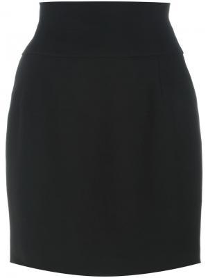 Короткая юбка Alexandre Vauthier. Цвет: чёрный